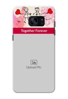 Samsung Galaxy S7 Edge Just You And Me Mobile Back Case Design
