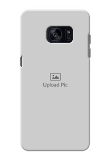 Samsung Galaxy S7 Edge Full Picture Upload Mobile Back Cover Design