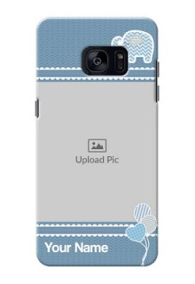 Samsung Galaxy S7 Edge kids design icons with  simple pattern Design Design