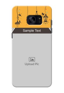 Samsung Galaxy S7 Edge my family design with hanging icons Design Design