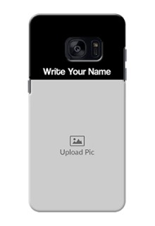 Galaxy S7 Edge Photo with Name on Phone Case