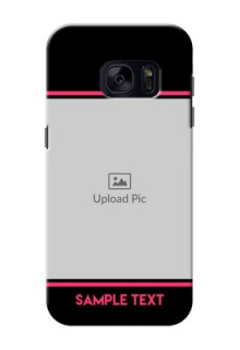 Samsung Galaxy S7 Photo With Text Mobile Case Design