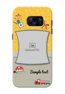 Samsung Galaxy S7 Baby Picture Upload Mobile Cover Design