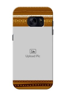 Samsung Galaxy S7 Friends Picture Upload Mobile Cover Design