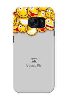Samsung Galaxy S7 smileys pattern Design Design