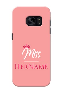 Galaxy S7 Custom Phone Case Mrs with Name