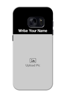 Galaxy S7 Photo with Name on Phone Case