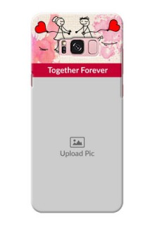 Samsung Galaxy S8 Plus Just You And Me Mobile Back Case Design