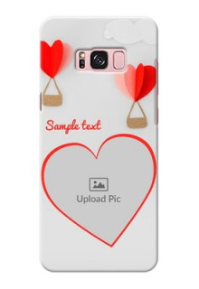 Samsung Galaxy S8 Plus Love Abstract Mobile Case Design
