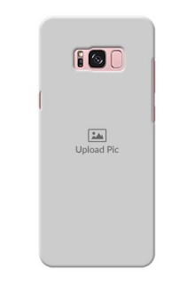 Samsung Galaxy S8 Plus Full Picture Upload Mobile Back Cover Design