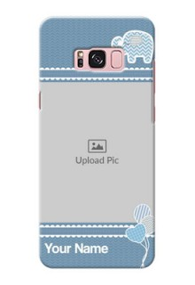 Samsung Galaxy S8 Plus kids design icons with  simple pattern Design Design