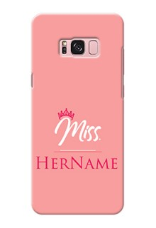 Galaxy S8 Plus Custom Phone Case Mrs with Name