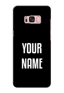 Galaxy S8 Plus Your Name on Phone Case