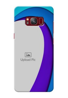 samsung Galaxy S8 Simple Pattern Mobile Case Design