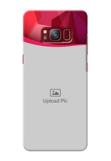 samsung Galaxy S8 Red Abstract Mobile Case Design