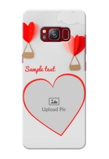 samsung Galaxy S8 Love Abstract Mobile Case Design