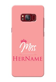 Galaxy S8 Custom Phone Case Mrs with Name