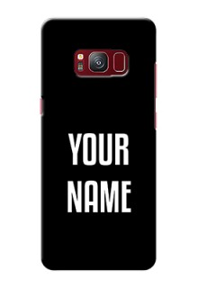 Galaxy S8 Your Name on Phone Case