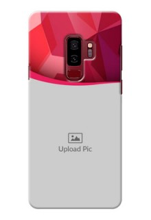 Samsung Galaxy S9 Plus Red Abstract Mobile Case Design