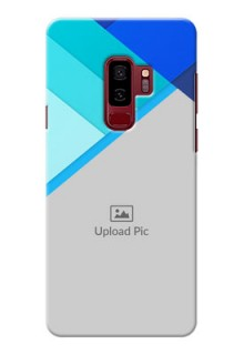 Samsung Galaxy S9 Plus Blue Abstract Mobile Cover Design