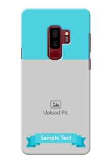 Samsung Galaxy S9 Plus Simple Mobile Back Cover Design