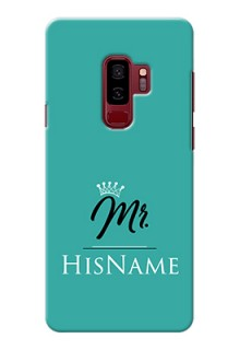 Galaxy S9 Plus Custom Phone Case Mr with Name