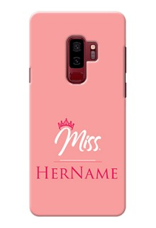 Galaxy S9 Plus Custom Phone Case Mrs with Name