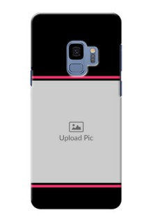 Samsung Galaxy S9 Photo With Text Mobile Case Design