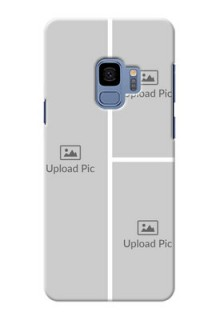 Samsung Galaxy S9 Multiple Picture Upload Mobile Cover Design