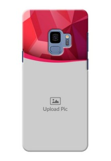 Samsung Galaxy S9 Red Abstract Mobile Case Design