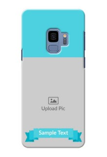 Samsung Galaxy S9 Simple Mobile Back Cover Design