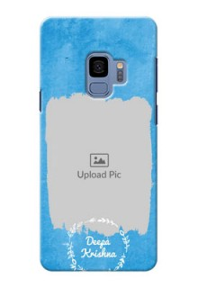 Samsung Galaxy S9 watercolour design with vintage floral Design