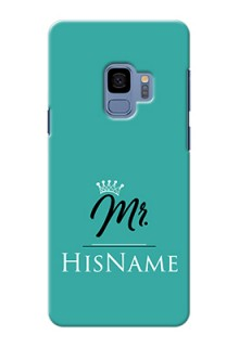 Galaxy S9 Custom Phone Case Mr with Name