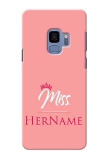 Galaxy S9 Custom Phone Case Mrs with Name