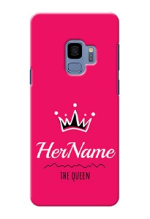 Galaxy S9 Queen Phone Case with Name