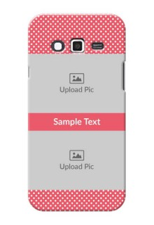 Samsung Grand 2 White Dots Mobile Case  Design