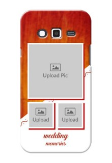 Samsung Grand 2 Wedding Memories Mobile Cover Design