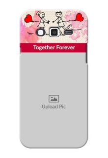 Samsung Grand 2 Just You And Me Mobile Back Case Design