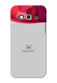 Samsung Grand 2 Red Abstract Mobile Case Design