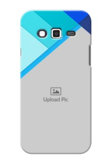 Samsung Grand 2 Blue Abstract Mobile Cover Design