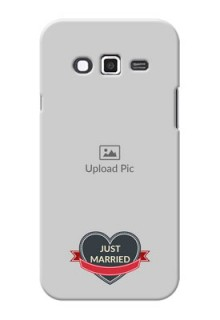 Samsung Grand 2 Just Married Mobile Cover Design
