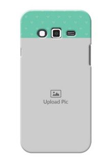 Samsung Grand 2 Lovers Picture Upload Mobile Cover Design