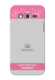 Samsung Grand 2 plain birthday line arts Design Design