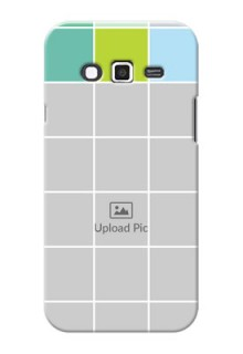 Samsung Grand 2 white boxes pattern Design Design