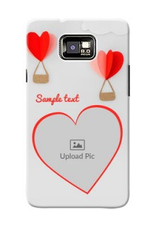Samsung I9100 Galaxy S II Plus Love Abstract Mobile Case Design