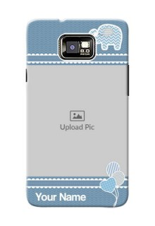 Samsung I9100 Galaxy S II Plus kids design icons with  simple pattern Design Design