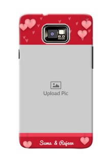 Samsung I9100 Galaxy S II Plus valentines day couple Design