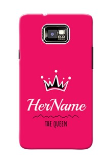 I9100 Galaxy S Ii Plus Queen Phone Case with Name