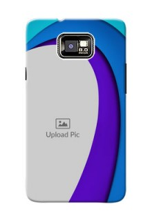 Samsung I9100 Galaxy S II Simple Pattern Mobile Case Design