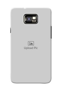 Samsung I9100 Galaxy S II Full Picture Upload Mobile Back Cover Design
